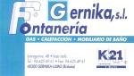 Fontaneria Gernika